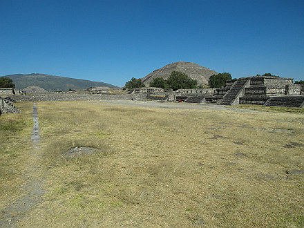 ancient pyramids of Teotihuacán