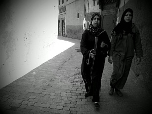 in the lanes of Medina I