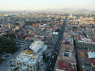 view from Torre Latinoamericana I