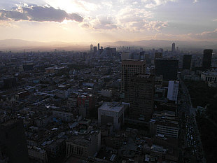 view from Torre Latinoamericana II