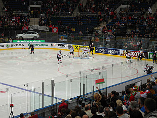 Ice Hockey World Championship 2014 - match USA vs. Switzerland