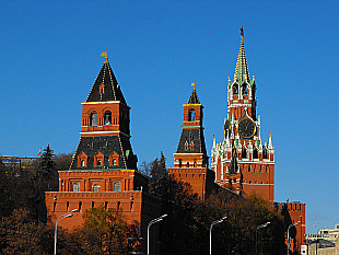 towers of Kremlin (Кремль)