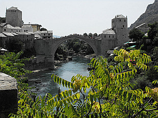 landmark of Mostar - Old Bridge (Stari Most)