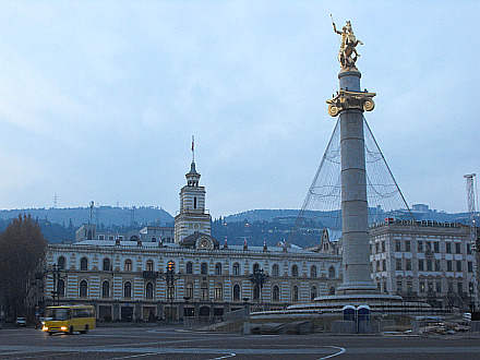 early morning Freedom Square