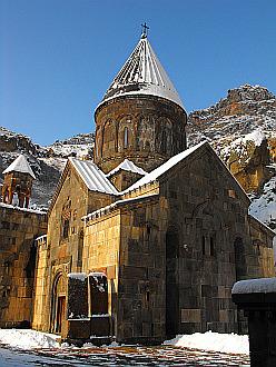 Geghard monastery...