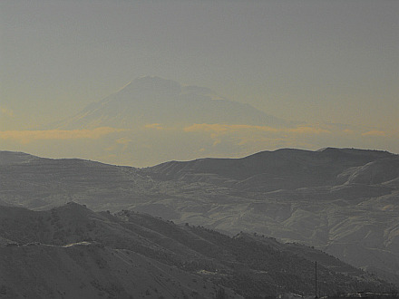 Mount Ararat (5165m) in the far