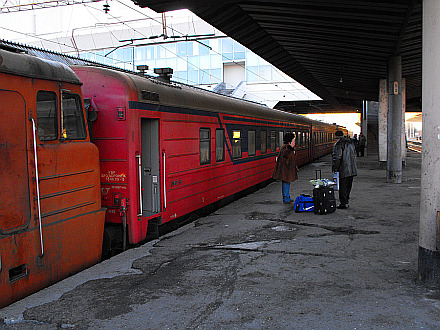 after 12 hours, the train Yerevan - Tbilisi reached it's destination