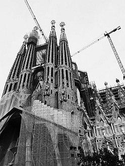 Barcelona - Sagrada Familia, still not finished