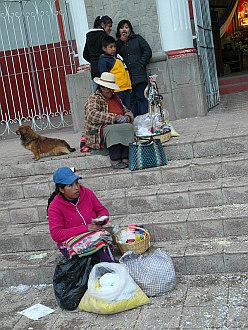 street scene from Puno