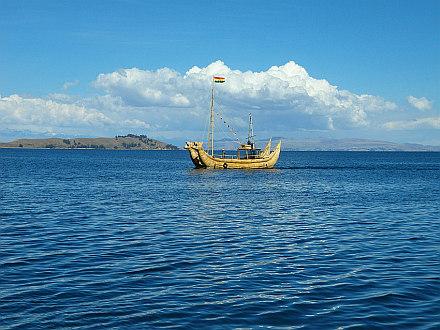Lake Titicaca, that's it
