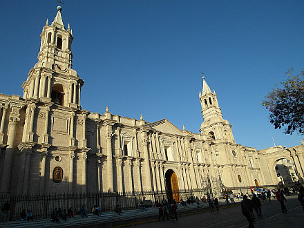 nice Cathedral in Arequipa