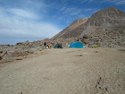 Nevado Chachani BC at 5180m