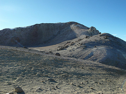 finally, summit of Chachani