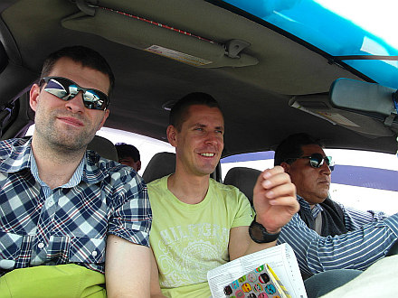 shared taxi from Tacna, Peru to Arica, Chile