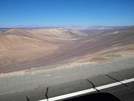 vast and dry is the Atacama Desert