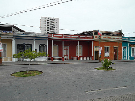 historical wooden houses