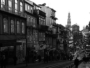 black and white Porto