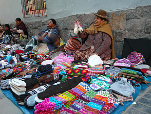 hawkers from Puno