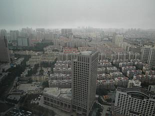 good morning in foggy Qingdao