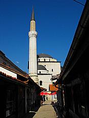 Gazi Husrev Bey's Mosque in Old Sarajevo