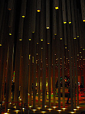 inside hungarian pavilion