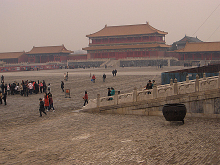 inside of the Forbidden City