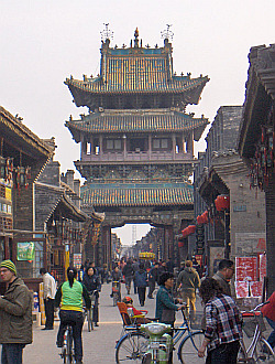Pingyao alleys