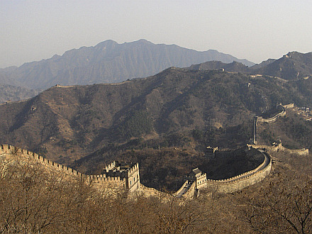 the Great Chinese Wall - Mutianyu section