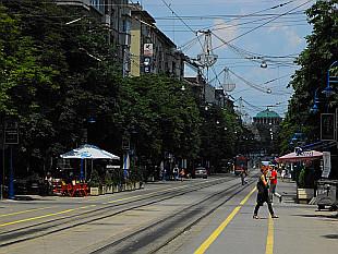 Vitosha Boulevard - main street of Sofia