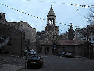 little church one turn left...