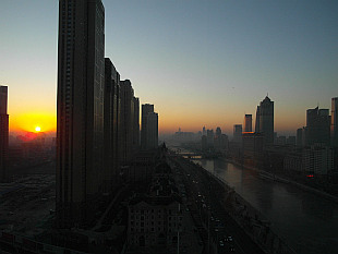 Tianjin sunrise views
