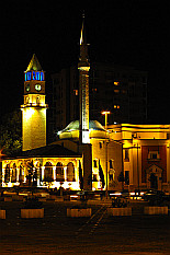 enlightened Ethem Bey Mosque and Clock Tower