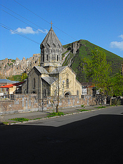 church in Goris