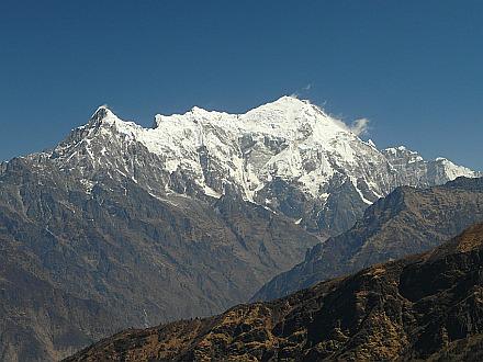 icy Langtang Lirung 7225m