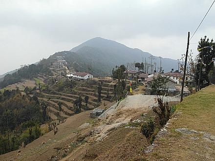 Kutumsang village