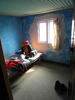my room in Chisopani