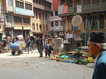 back in Kathmandu
