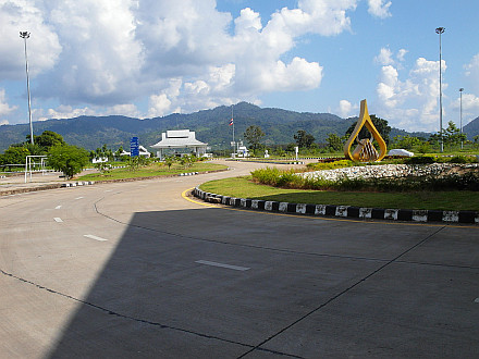 border-crossing from Thailand to Laos