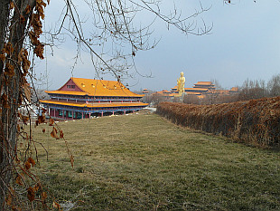 Red Mountain monastery in Urumqi