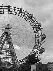 giant wheel in Prater