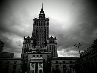grey Palace of Culture and Science