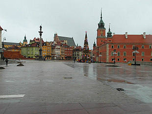 Warsaw Old Town - Castle Square