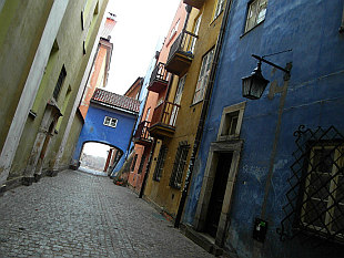 hidden lanes of the Old Town