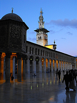Ummayad Mosque by dusk