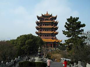Yellow Crane Pagoda, main landmark in Wuhan