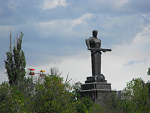 statue of Mother Armenia